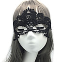 billiga Halloween- och karnevalkostymer-Spets Masquerade Mask Halloween-mask Ögonmask Inspirerad av Uggla Opera of Phantom Svart Vit Halloween Halloween Karnival Vuxna Herr Dam