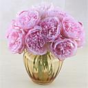 Χαμηλού Κόστους Ψεύτικα Λουλούδια-Ψεύτικα λουλούδια 5 Κλαδί Κλασσικό Μονό Στυλάτο Ποιμενικό Στυλ Παιώνιες Λουλούδι για Τραπέζι