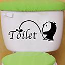 ราคาถูก สติกเกอร์ติดผนัง-สติ๊กเกอร์ห้องน้ำ - สติกเกอร์ติดผนังสัตว์ สัตว์ต่างๆ ห้องนั่งเล่น / ห้องนอน / ห้องอาบน้ำ