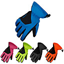ราคาถูก ถุงมือเล่นสกี-ถุงมือฤดูหนาว ถุงมือสกี กีฬาหิมะ เต็มนิ้วมือ ฤดูหนาว กันน้ำ รักษาให้อุ่น Skidproof หนัง PU Skiing การเดินเขา