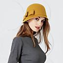 povoljno Party pokrivala za glavu-100% vuna Kentucky Derby Hat / kape s Mašnica 1pc Vjenčanje / Zabava / večer Glava