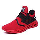 Χαμηλού Κόστους Αντρικά Αθλητικά Παπούτσια-Ανδρικά Παπούτσια άνεσης Δίχτυ / PU Άνοιξη / Φθινόπωρο Αθλητικό / Καθημερινό Αθλητικά Παπούτσια Τρέξιμο Αναπνέει Μαύρο / Κόκκινο / Γκρίζο