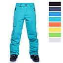 ราคาถูก รองเท้าสโนว์บูตปีนเขา-สำหรับผู้ชาย Ski Pants กันน้ำ กันลม กันน้ำฝน Skiing Snowboarding ฝ้าย polyster ด้านล่าง Ski Wear / Warm