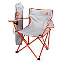 baratos Material de Cozinha para Campismo-BEAR SYMBOL Cadeiras de Pesca Cadeira Dobrável para Acampamento com porta-copos Portátil Ultra Leve (UL) Dobrável Náilon Alumínio 6061 para 1 Pessoa Pesca Equitação Campismo Verde Laranja Azul Escuro