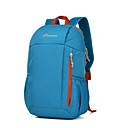 billiga Nagelkonst-Mountaintop® 25 L Ryggsäckar Lättvikt Ultra Lätt (UL) Utomhus Camping Resor 100g / m2 Polyester Stretch Röd Grön Blå
