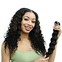 billiga Tupéer-6 paket Mongoliskt hår Stora vågor Äkta hår Obehandlat Mänsligt hår Human Hår vävar bunt hår En Pack Lösning 8-28 tum Naurlig färg Hårförlängning av äkta hår Dam Tjock 100% Jungfru Människohår / 8A