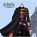 billiga Animekostymer-Inspirerad av Kod Gease Lelouch Lamperouge Animé Cosplay-kostymer Japanska cosplay Suits Strukturerad Kappa / Blus / Byxor Till Herr / Handskar