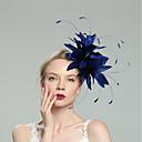 Χαμηλού Κόστους Καπέλα και Διακοσμητικά-Φτερά Γοητευτικά με Φτερό / Μονόχρωμο 1pc Γάμου / Ειδική Περίσταση Headpiece