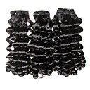 billige Hairextension med naturlig farge-Ubehandlet / Ubehandlet hår Hår Veve Til fargede kvinner / 100% Jomfru / ubehandlet Brasiliansk hår 45cm 0.08kg Over 1 år Gave / Arbeidsklær / Skole