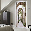 Χαμηλού Κόστους Αυτοκόλλητα Τοίχου-Διακοσμητικά αυτοκόλλητα τοίχου - 3D Αυτοκόλλητα Τοίχου Νεκρή Φύση / 3D Υπνοδωμάτιο / Εσωτερικό