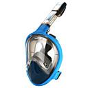 ราคาถูก รถจักรยานยนต์ของเล่น-หน้ากากดำน้ำ Full Face Masks หน้าต่างเดียว - Snorkeling สำหรับ ผู้ใหญ่ สีเหลือง / 180 Degree / การรั่วไหลของหลักฐาน / ป้องกันหมอกควัน