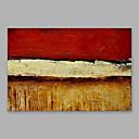 povoljno Apstraktno slikarstvo-Hang oslikana uljanim bojama Ručno oslikana - Sažetak Moderna Uključi Unutarnji okvir / Prošireni platno