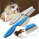 זול כלב ציוד טיפוח-כלבים חתולים ערכות טיפוח ניקוי פלסטי מסרקים יום יומי\קז'ואל לבן 1