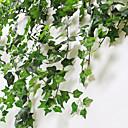 billiga Konstgjorda växter-Konstgjorda blommor 1 Gren Klassisk Modernt Modernt Pastoral Stil Plantor Väggblomma