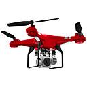 ราคาถูก โดรนควบคุมระยะไกลและ Multi-Rotors-RC Drone SH5HD 4CH 6 แกน 2.4กรัม With HD Camera 0.3MP RC Quadcopter FPV / 1 คีย์สำหรับรีเทิร์น / ออโต้วิ่งขึ้น RC Quadcopter / Remote Controller / กล้องถ่ายรูป / 360 องศาเที่ยวบินพลิก / โฉบ / โฉบ