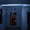 billiga Vägglampetter-4m 13ft 96 luces de cadena led dip led us plug cortina extensible enlazable 8 modos cuerda de cuerda decorativa de navidad luz de centelleo luz cálida fría blanca rgb