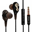 Χαμηλού Κόστους Περιποίηση Μαλλιών-LITBest LXM20 Ενσύρματο ραδιοφωνικό ακουστικό Καλώδιο Κινητό Τηλέφωνο Με Μικρόφωνο Με Έλεγχος έντασης ήχου