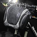 billiga Väskor till cykelstyret-6 L Väska till cykelstyret Axelväska Multifunktionell Vattentät Bärbar Cykelväska Nylon Cykelväska Pyöräilylaukku Cykling Cykel Resor / Reflexremsa