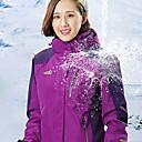 povoljno Softshell, flis i jakne za planinarenje-Žene Jakne 3-u-1 Túrakabát Vanjski Pasti Proljeće Vodootporno Ugrijati Vjetronepropusnost Prozračnost Jakna Jakne 3-u-1 Runo Cijeli Duljina Vidljivo Zipper Camping & planinarenje Skijanje Penjanje