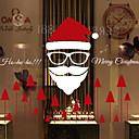 Χαμηλού Κόστους Christmas Stickers-Window Film & αυτοκόλλητα Διακόσμηση Σύγχρονο / Χριστούγεννα Απλός / Διακοπών PVC Απίθανο