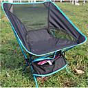 billige Turmøbler-Jungle King camping stol Ultra Lett (UL) Sammenleggbar Folding Net Aluminiumslegering til 1 person Fisking Høst Vår Oransje Blå Rød Mørkeblå