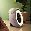 baratos Camisas Para Ciclismo-BRELONG® 1pç Música despertador Despertador luz LED Branco USB Indução inteligente / Regulável / Sensor do corpo humano <=36 V