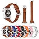 Χαμηλού Κόστους Είδη Ψησίματος-Παρακολουθήστε Band για Apple Watch Series 5/4/3/2/1 Apple Δερμάτινη Πλέξη Γνήσιο δέρμα Λουράκι Καρπού