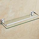 Χαμηλού Κόστους Ράφια Μπάνιου-Ράφιι μπάνιου Νεό Σχέδιο / Απίθανο Μοντέρνα Glass / Ανοξείδωτο Ατσάλι / Σίδηρο 1pc Επιτοίχιες