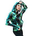 povoljno Odjeća za fitness, trčanje i jogu-Žene Zatvarač Yoga Top Cvjetni / Botanički Likra Zumba Yoga Trčanje Majice Dugih rukava Odjeća za rekreaciju Prozračnost Quick dry Izzadás-elvezető Rastezljivo Širok kroj