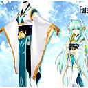 povoljno Anime kostimi-Inspirirana Sudbina / Veliki red Kiyohime Anime Cosplay nošnje Japanski Cosplay Suits Cvjetni / Botanički Kimono Dlaka / Kostim Za Žene