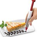 billiga Baktillbehör-1st Kiselgel Ny Design Födelsedag Nyår Tårta Muffin Choklad Rund Dessert Dekoratörer Dessertverktyg Bakeware verktyg