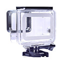 billiga PS4 Tillbehör-Skyddsfodral Vattentätt fodral 1 pcs För Actionkamera Gopro 5 Simmning Dykning Surfing Ekologiskt glas pvc