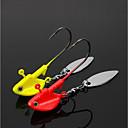 Χαμηλού Κόστους Αγκίστρια-3 pcs Αγκίστρια Θαλάσσιο Ψάρεμα / Ψάρεμα με Μύγα / Δολώματα πετονιάς Μόλυβδος Εύκολο στη χρήση / Ψάρεμα Πάγου / Περιστρεφόμενο / Jigging Fishing / Ψάρεμα Γλυκού Νερού / Ψάρεμα κυπρίνου