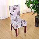 baratos Cobertura de Cadeira-slipcovers capa da cadeira impressão reativa poliéster cinza padrão floral