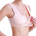 billige Dame-brystholdere-Dame Amming Heldekkende BH Ensfarget Rosa Beige / Mammaklær