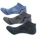 povoljno Obuća za vožnju biciklom-Kompresija čarape Gležanj Čarape Futózoknik Sport čarape / atletske čarape Biciklističke čarape Muškarci Bicikl / Biciklizam Prozračnost 3 para Dungi Pamuk Tamno siva Plava Siva One Size