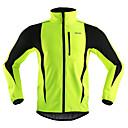 povoljno Biciklističke hlače, kratke hlače i tajice-Arsuxeo Muškarci Biciklistička jakna Bicikl Jakna / Zima Flis jakne / Majice Vjetronepropusnost, Ugrijati, Prozračnost Dungi Poliester, Spandex, Runo Zima žuta / Crvena / Svijetlo zelena biciklom na