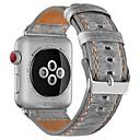 Χαμηλού Κόστους Μαγειρικά Σκεύη Κατασκήνωσης-Τρίχα Μοσχαριού Παρακολουθήστε Band Λουρί για Apple Watch Series 4/3/2/1 Καφέ / Γκρι 23 εκατοστά / 9 ίντσες 2.1cm / 0.83 Ίντσες
