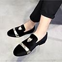 ราคาถูก รองเท้าแตะ & Loafersสำหรับผู้ชาย-สำหรับผู้ชาย รองเท้าอย่างเป็นทางการ หนังเทียม ฤดูใบไม้ร่วง & ฤดูหนาว ไม่เป็นทางการ / Chinoiserie รองเท้าส้นเตี้ยทำมาจากหนังและรองเท้าสวมแบบไม่มีเชือก กันน้ำ 3D สีดำ / แดง / ฟ้า / พรรคและเย็น / EU40