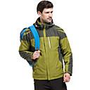 povoljno Skijaška i snowboard odjeća-Muškarci hoodie jakna Jakne 3-u-1 Túrakabát Zima Vanjski Vodootporno Vjetronepropusnost Prozračnost Otporno na kišu Jakne 3-u-1 Majice Jednostrano sklizanje Camping & planinarenje Lov Skijanje žuta