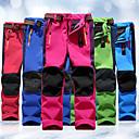 ราคาถูก กางเกงปีนเขาและกางเกงขาสั้น-เด็กผู้ชาย เด็กผู้หญิง Hiking Pants กลางแจ้ง กันน้ำ กันลม กันน้ำฝน รักษาให้อุ่น ฤดูใบไม้ร่วง ฤดูหนาว กางเกง Skiing การตกปลา การเดินเขา แดง สีเขียว ฟ้า L XL XXL / ยืด / ความต้านทานการสึกหรอ
