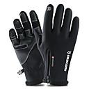 Χαμηλού Κόστους Γάντια-Γάντια του σκι Γάντια Αφής Ανδρικά Γυναικεία Αθλήματα Χιονιού Ολόκληρο το Δάχτυλο Χειμώνας Αδιάβροχη Αντιανεμικό Διατηρείτε Ζεστό PU δέρμα Πολυεστέρας / Πολυαμίδη