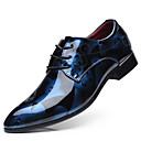 billige Oxfordsko til herrer-Herre Formell Sko PU Vår Forretning Oxfords Gul / Rød / Blå