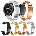 ราคาถูก วง Smartwatch-สายนาฬิกา สำหรับ Fenix 5x Garmin หัวกลัดแบบคลาสสิก โลหะ / สแตนเลส สายห้อยข้อมือ