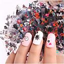povoljno 3D naljepnica-24 pcs 3D Nail Naljepnice Kreativan nail art Manikura Pedikura Multi Function / Najbolja kvaliteta Moda Dnevno / Festival