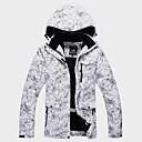 Χαμηλού Κόστους Ρούχα για σκι, σνόουμπορντ-ARCTIC QUEEN Ανδρικά Γυναικεία Μπουφάν για σκι Σκι Χειμερινά Αθήματα Για Υπαίθρια Χρήση Διατηρείτε Ζεστό Αδιάβροχη Αντιανεμικό Χειμωνιάτικα μπουφάν Ενδυμασία σκι / Χειμώνας / Άνθινο / Βοτανικό