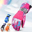 Χαμηλού Κόστους Γάντια-Χειμωνιάτικα Γάντια Ανδρικά Γυναικεία Αθλήματα Χιονιού Ολόκληρο το Δάχτυλο Χειμώνας Αδιάβροχη Αντιανεμικό Αναπνέει PU Σκι Αθλήματα Χιονιού Σνόουμπορτινγκ