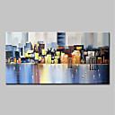 povoljno Slike krajolika-Hang oslikana uljanim bojama Ručno oslikana - Sažetak Pejzaž Moderna Bez unutrašnje Frame / Valjani platno