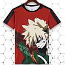 voordelige Cosplay voor dagelijks gebruik-My Hero Academy Battle For All / Boku No Hero Academia Cosplay T-Shirt Poly / Katoen Voor Unisex