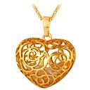 Χαμηλού Κόστους Ρούχα τρεξίματος-Γυναικεία Κρεμαστά Κολιέ Καρδιά Ρομαντικό Μοντέρνα Χαλκός Χρυσό Ασημί 55 cm Κολιέ Κοσμήματα 1pc Για Δώρο Καθημερινά